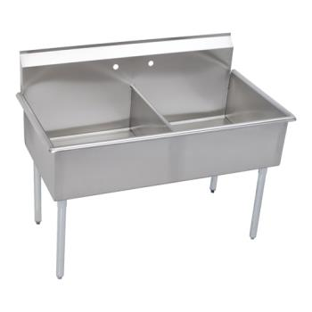ELKB2C24X24X - Elkay - B2C24X24X - 27 1/2 x 51 in Two Compartment Utility Sink Product Image