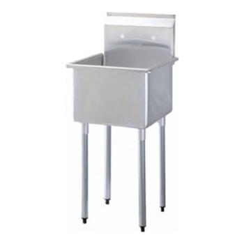 95353 - Turbo Air - TSA-1MOP - 18 in x 18 in Stainless Steel Mop Sink Product Image