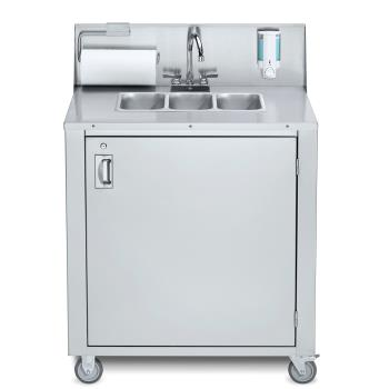 CROCVPHS3 - Crown Verity - CVPHS-3 - Portable 3-Compartment Hand Sink Product Image