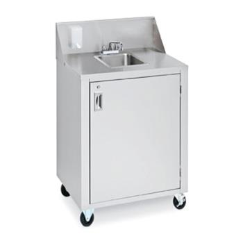 CROCVPHS4 - Crown Verity - CVPHS-4 - Portable 1-Compartment Space Saver Hand Sink Product Image
