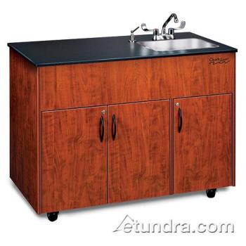OZRADAVCLMSS1DN - Ozark River - ADAVC-LM-SS1DN - Advantage Series Single Deep Stainless/Laminate/ Cherry Portable Hand Sink Product Image