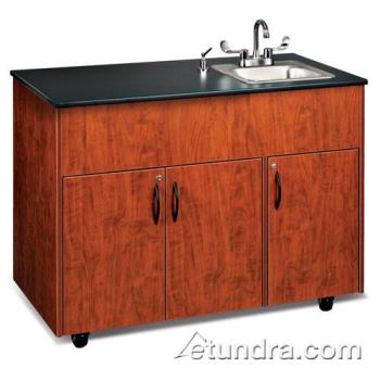 OZRADAVCLMSS1N - Ozark River - ADAVC-LM-SS1N - Advantage Series Single Stainless/Laminate/Cherry Portable Hand Sink Product Image