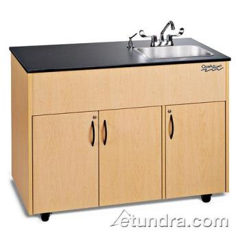 OZRADAVMLMSS1DN - Ozark River - ADAVM-LM-SS1DN - Advantage Series Single Deep Stainless/Laminate/Maple Portable Hand Sink Product Image