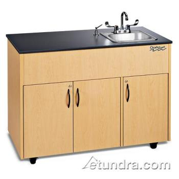 OZRADAVMLMSS1N - Ozark River - ADAVM-LM-SS1N - Advantage Series Single Stainless/Laminate/Maple Portable Hand Sink Product Image