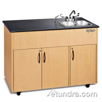 OZRADAVMLMSS2N - Ozark River - ADAVM-LM-SS2N - Advantage Series Double Stainless/Laminate/Maple Portable Hand Sink Product Image
