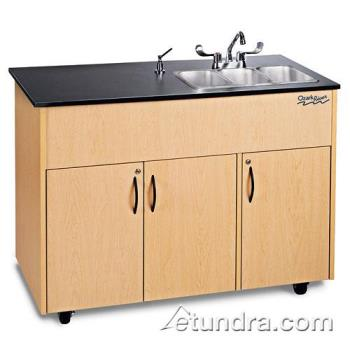 OZRADAVMLMSS3N - Ozark River - ADAVM-LM-SS3N - Advantage Series Triple Stainless/Laminate/Maple Portable Hand Sink Product Image