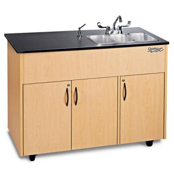 OZRADAVMLMSS3N - Ozark River - ADAVM-LM-SS3N - Advantage Series SS/Laminate Portable Hand Sink Product Image