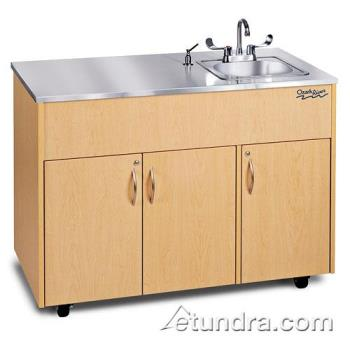 OZRADAVMSSSS1N - Ozark River - ADAVM-SS-SS1N - Silver Advantage Series Single Stainless/Maple Portable Hand Sink Product Image