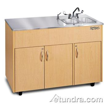 OZRADAVMSSSS2N - Ozark River - ADAVM-SS-SS2N - Silver Advantage Series Double Stainless/Maple Portable Hand Sink Product Image