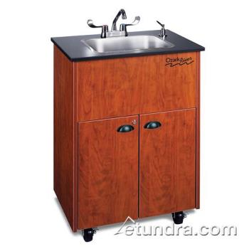 OZRADSTCLMSS1DN - Ozark River - ADSTC-LM-SS1DN - Premier Series Single Stainless/Laminate/Cherry Deep Portable Hand Sink Product Image