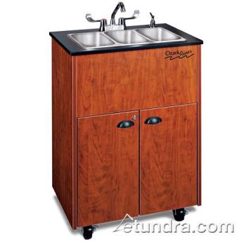 OZRADSTCLMSS3N - Ozark River - ADSTC-LM-SS3N - Premier Series SS/Laminate Portable Hand Sink Product Image