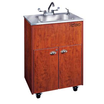OZRADSTCSSSS1DN - Ozark River - ADSTC-SS-SS1DN - Silver Premier Series SS Portable Hand Sink Product Image