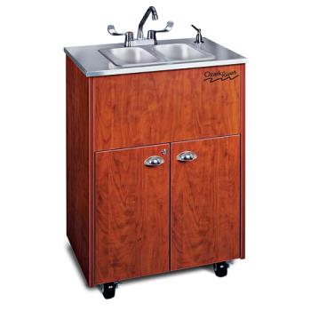 OZRADSTCSSSS2N - Ozark River - ADSTC-SS-SS2N - Silver Premier Series SS Portable Hand Sink Product Image