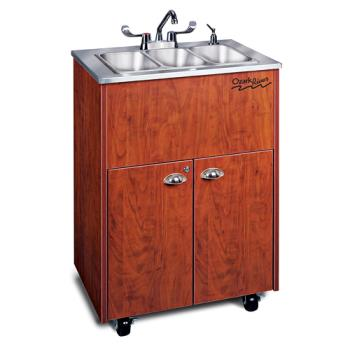 OZRADSTCSSSS3N - Ozark River - ADSTC-SS-SS3N - Silver Premier Series SS Portable Hand Sink Product Image