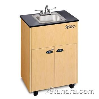 OZADSTMLMSSIN - Ozark River - ADSTM-LM-SS1N - Premier Series Stainless/Laminate/Maple Portable Hand Sink Product Image