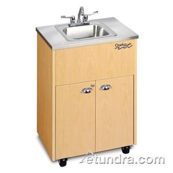 OZRADSTMSSSS1N - Ozark River - ADSTM-SS-SS1N - Silver Premier Series Single Stainless/Maple Portable Hand Sink Product Image
