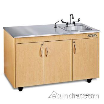 OZRCHAVCSSSS1N - Ozark River - CHAVC-SS-SS1N - Silver Lil Advantage Series Single Stainless/Cherry Portable  Hand Sink Product Image