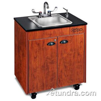 OZRCHSTCLMSS1N - Ozark River - CHSTC-LM-SS1N - Lil Premier Series Single Stainless/Laminate/Cherry Portable Hand Sink Product Image