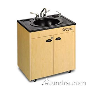 OZRCHSTMABAB1 - Ozark River - CHSTM-AB-AB1 - Lil Premier Series  ABS/Maple Portable Hand Sink Product Image