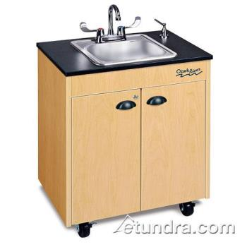 OZRCHSTMLMSS1N - Ozark River - CHSTM-LM-SS1N - Lil Premier Series Single Stainless/Laminate/Maple  Portable Hand Sink Product Image