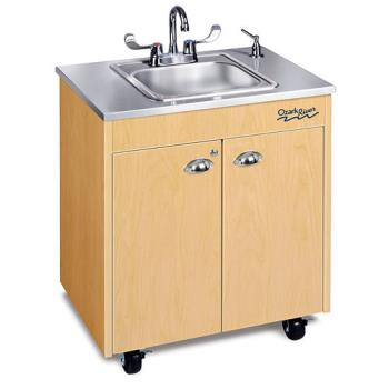 OZRCHSTMSSSS1N - Ozark River - CHSTM-SS-SS1N - Lil Premier Series SS/Maple Portable Hand Sink Product Image