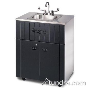 OZRNSSSKSSSS1N - Ozark River - NSSSK-SS-SS1N - Nature Series Triple Stainless/Galvanized Portable Hand Sink Product Image