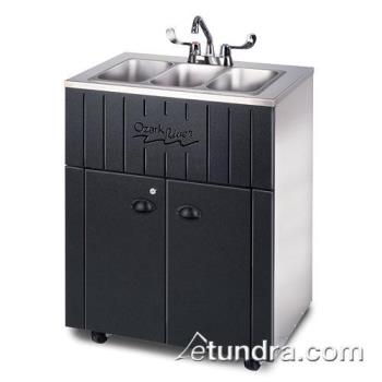 OZRNSSSKSSSS3N - Ozark River - NSSTK-SS-SS13N - Nature Series Triple All Stainless Portable Hand Sink Product Image