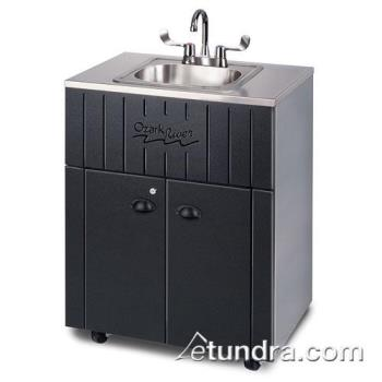 OZRNSSTKSSSS1N - Ozark River - NSSTK-SS-SS1N - Nature Series Single Stainless/Galvanized  Portable Hand Sink Product Image