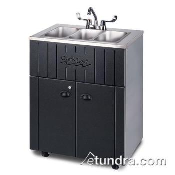 OZRNSSTKSSSS3N - Ozark River - NSSTK-SS-SS3N - Nature Series Single All Stainless Portable Hand Sink Product Image
