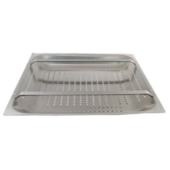 "11517 - FMP - 102-1125 - 20"" x 20"" x 2 1/4"" Pre-Rinse Sink Basket Product Image"