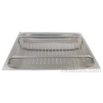 "11524 - FMP - 102-1151 - 20"" x 20"" x 4"" Pre-Rinse Sink Basket Product Image"