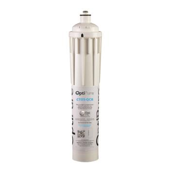 OPTCTOSQCR - OptiPure - CTOS‐QCR - Qwik-Twist Steam Equipment Replacement Water Filter Cartridge w/ Scale Inhibitor Product Image