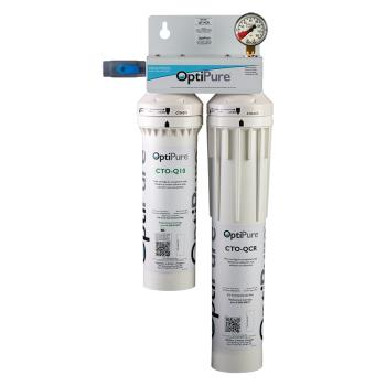 OPTQT1CR - OptiPure - QT1+CR - Dual Water Filter Assembly Product Image
