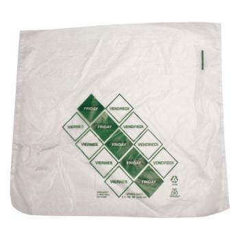 "DAY110920 - DayMark - 110920 - 10"" x 8.5"" Saddlepack Green Portion Bag Product Image"