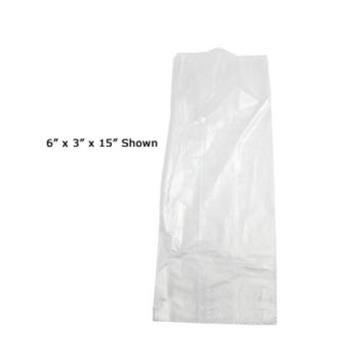 58116 - Fortune Plastic - 100NP - 1 Pt- .52 Mil Clear N' Tuff Food Bag Product Image