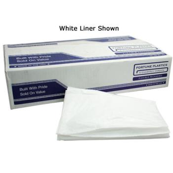 58115 - Fortune Plastic - 11206177 - 38 x 58 in Clear Low Density Can Liner Product Image
