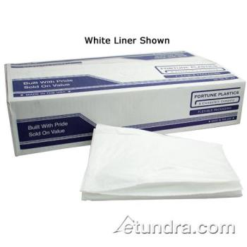 "58112 - Fortune Plastic - CL48GR - 40"" x 46""-.6 Mil Low Density Can Liner Product Image"