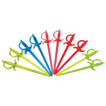 75411 - Commercial - 3 in Assorted Color Sword Picks Product Image