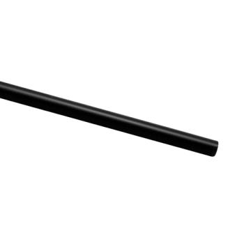 59010 - D&W Fine Pack - JU50250 - 7 3/4 in Black Unwrapped Jumbo Straw Product Image