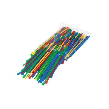 PAR6510 - Paragon - 6510 - Spoon Straws - multicolor pack Product Image