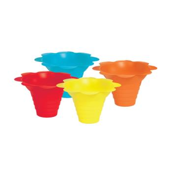 PAR6502 - Paragon - 6502 - Flower Drip Tray Cups - multicolor (4 oz) Product Image
