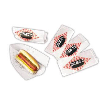 PAR8050SC - Paragon - 8050SC - Hot Dog Double Open Paper Bag (1000) Product Image
