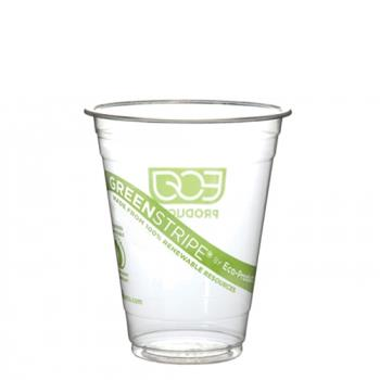 57174 - Eco-Products - EP-CC16-GSPK - 16 oz GreenStripe® Cold Cups Convenience Pack Product Image