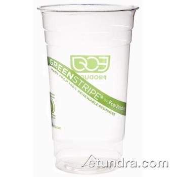 56209 - Eco-Products - EP-CC28-GS - 28 oz GreenStripe® Cold Corn Cups Product Image