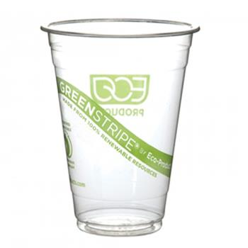 56175 - Eco-Products - EP-CC32-GS - 32 oz GreenStripe® Cold Corn Cups Product Image