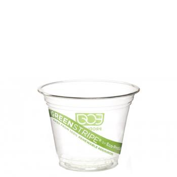 56132 - Eco-Products - EP-CC9S-GS - 9 oz GreenStripe® Cold Corn Cups Product Image