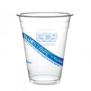 56150 - Eco-Products - EP-CR20 - 20 oz Recycled BlueStripe™ PET Cold Cups Product Image