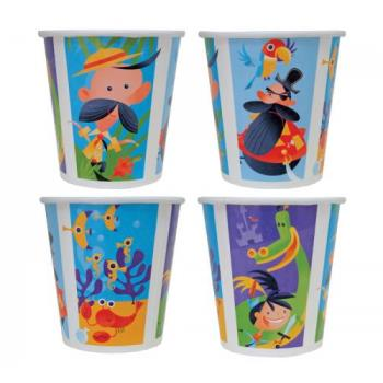58545 - Kidstar - KS-pcup/Adv - 12 oz Kids Paper Cup - Adventure Theme Product Image