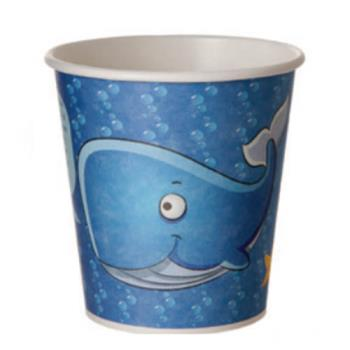ECOEPBHC10KLS - Eco-Products - EP-BHC10-KLS - 10 oz Hot Cold Sea Design Kids Cup Product Image