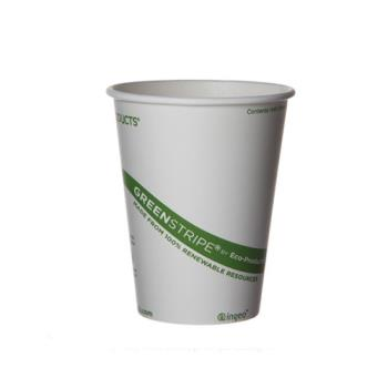 56133 - Eco-Products - EP-BHC16-GS - 16 oz GreenStripe® Hot Cups Product Image